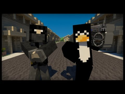 polski pingwin minecraft style tekst piosenki