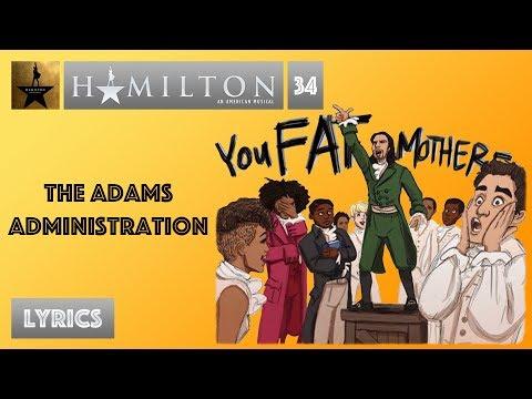 Hamilton Open Letter To Adams